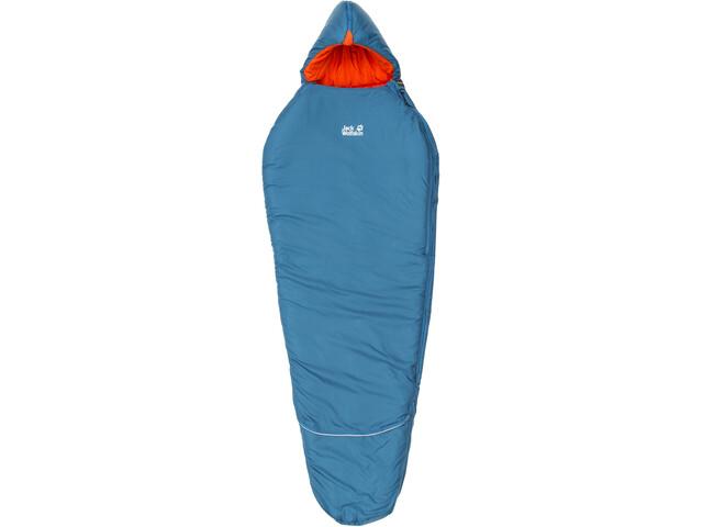 Jack Wolfskin Grow Up Comfort Sac de couchage Enfant, moroccan blue